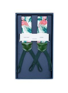 Men's Suspenders - Flamings