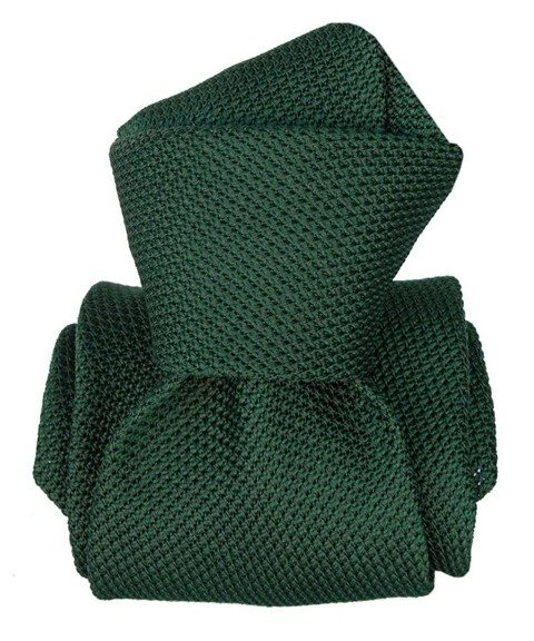 Grenadine Garza Fina Tie - Bottle Green