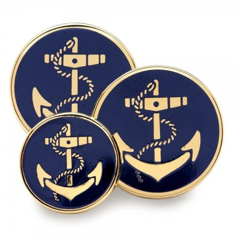 Enamel Anchor Navy
